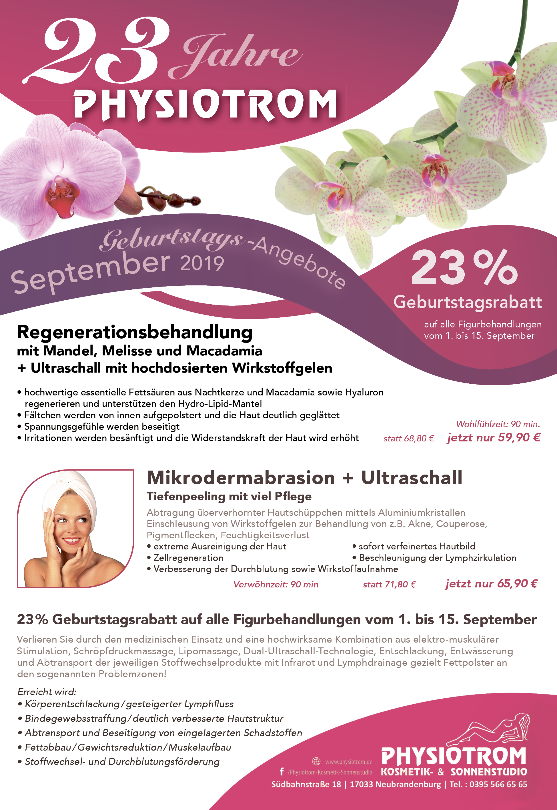 Angebote SEPTEMBER 2019